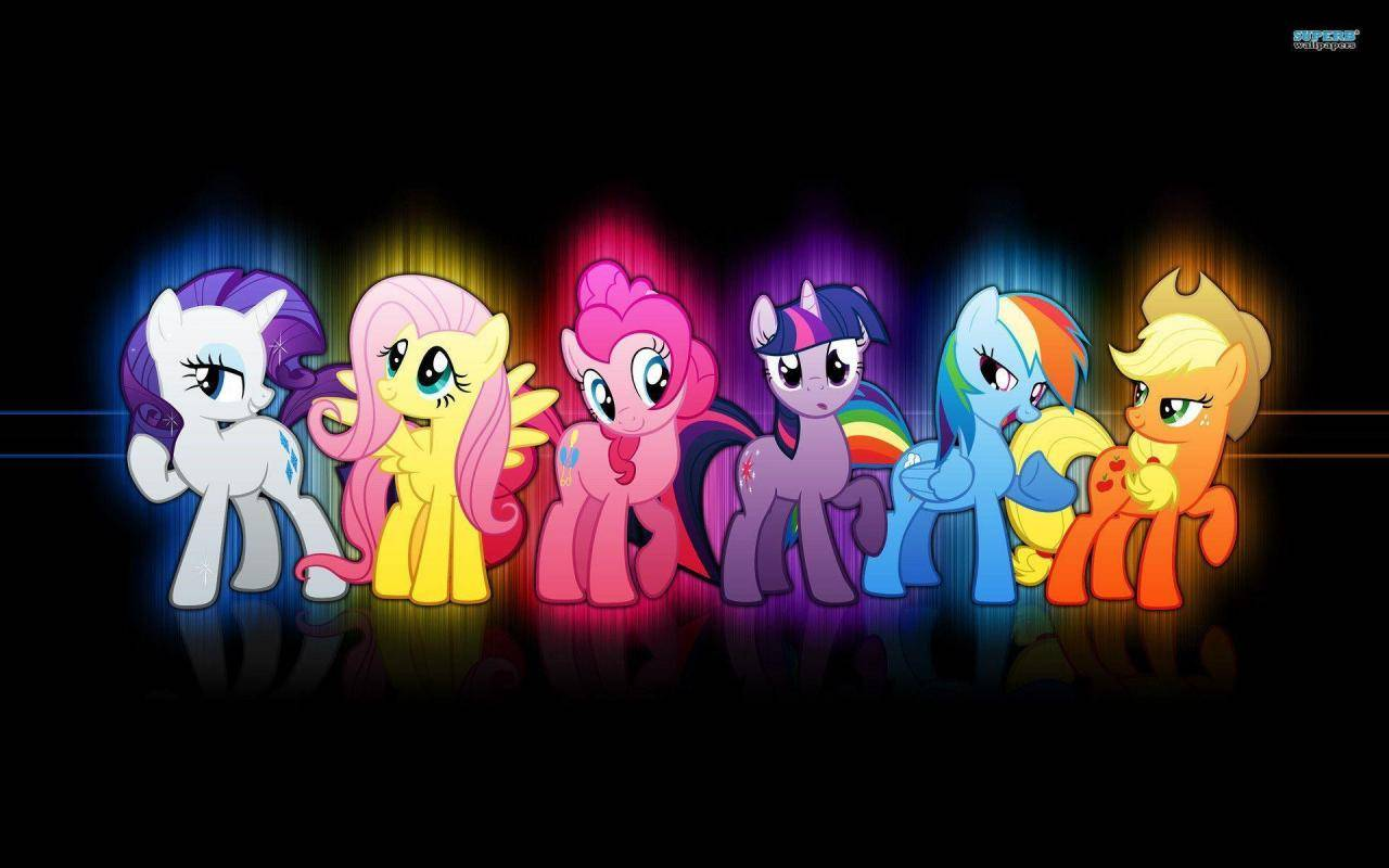 My Little Pony Friendship is Magic MLP Background For Ipad ...